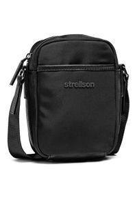 Strellson - Saszetka STRELLSON - Wembley 4010002944 Black 900. Kolor: czarny. Materiał: materiał