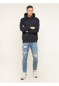 Pepe Jeans Bluza Ansel PM581716 Czarny Loose Fit. Kolor: czarny