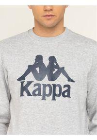 Kappa Bluza Sertum 703797 Szary Regular Fit. Kolor: szary