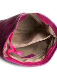 Creole - Torebka CREOLE - RBI211 Fuksja D02. Kolor: różowy. Materiał: skórzane