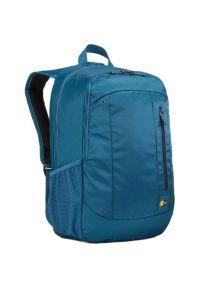 Niebieski plecak na laptopa CASE LOGIC w kolorowe wzory