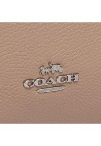 Beżowa torebka Coach