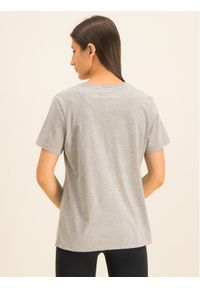 Superdry T-Shirt Classic Rainbow Emb Entry Tee W1000057A Szary Classic Fit. Kolor: szary