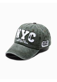 Zielona czapka Ombre Clothing