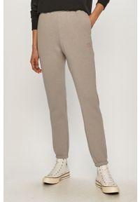 Szare spodnie dresowe gładkie