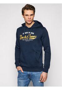 Jack & Jones - Jack&Jones Bluza Logo Sweat 12172349 Granatowy Regular Fit. Kolor: niebieski