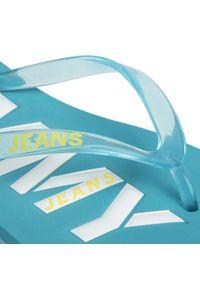 Niebieskie japonki Tommy Jeans