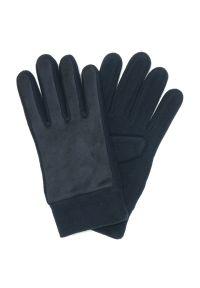 Niebieskie rękawiczki Pako Jeans na jesień, klasyczne