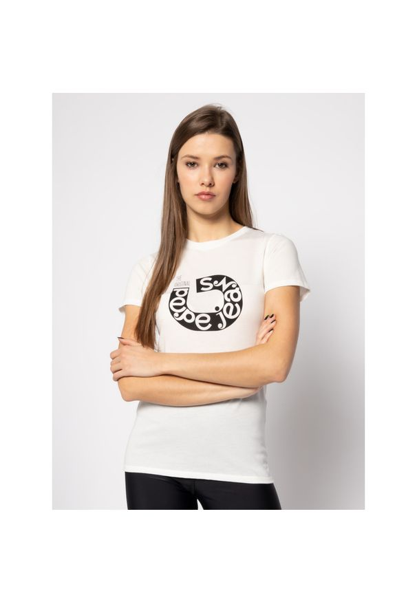 Beżowy t-shirt Pepe Jeans