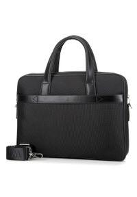 Czarna torba na laptopa Wittchen elegancka