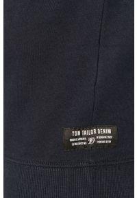 Niebieska bluza nierozpinana Tom Tailor na co dzień, casualowa, bez kaptura