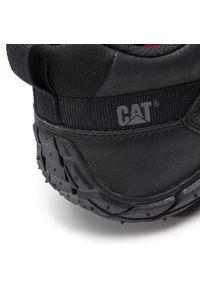 CATerpillar - Półbuty CATERPILLAR - Rachet P721363 Black. Kolor: czarny. Materiał: skóra, materiał. Szerokość cholewki: normalna