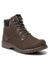 Zielone buty trekkingowe Wrangler