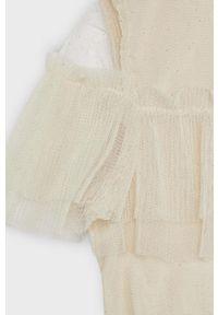 Sukienka Mayoral rozkloszowana, gładkie, z krótkim rękawem