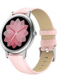 Smartwatch Bakeeley E10 Różowy. Rodzaj zegarka: smartwatch. Kolor: różowy