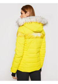 Żółta kurtka sportowa CMP narciarska