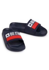 Niebieskie klapki Big-Star na co dzień, casualowe