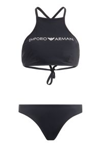 Czarne bikini Emporio Armani