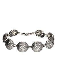Polcarat Design - Bransoletka srebrna oksydowana L 1899. Materiał: srebrne. Kolor: srebrny