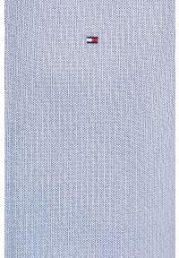 TOMMY HILFIGER - Tommy Hilfiger - Koszula bawełniana. Typ kołnierza: button down. Kolor: niebieski. Materiał: bawełna