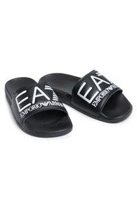 Czarne klapki EA7 Emporio Armani #7