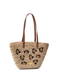 Brązowa torba plażowa Gioseppo klasyczna