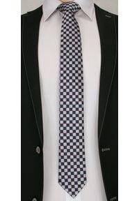 Wielokolorowy krawat Chattier wizytowy