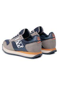 Sneakersy Napapijri na co dzień, z cholewką