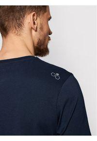 Musto T-Shirt Lr Ss Logo Tee 84008 Granatowy Regular Fit. Kolor: niebieski #4
