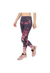 Legginsy damskie sportowe 7/8 Energetics Gypsy 2 302647. Materiał: poliester, elastan, materiał. Wzór: gładki. Sport: fitness