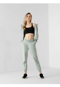4f - Spodnie dresowe joggery damskie. Materiał: dresówka