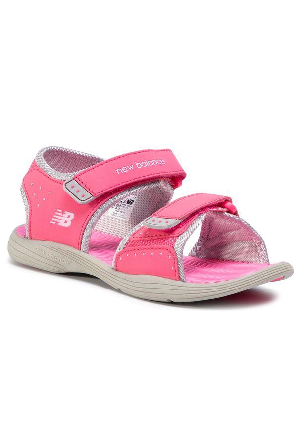 Różowe sandały New Balance