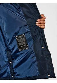 Geox Kurtka puchowa Annya W0428C T2608 F4386 Granatowy Regular Fit. Kolor: niebieski. Materiał: puch