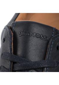 Niebieskie sneakersy Gino Rossi z cholewką