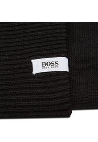 Czarna czapka zimowa BOSS