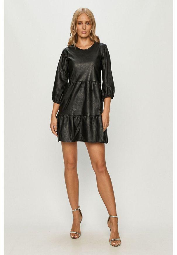 Czarna sukienka Haily's mini, na co dzień