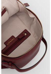 TwinSet - Twinset - Plecak. Kolor: czerwony