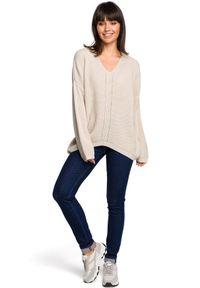 Sweter na co dzień, długi, elegancki