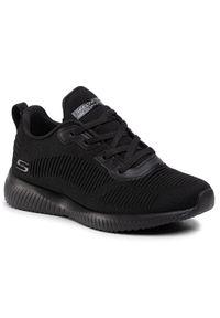 Czarne buty do fitnessu skechers z cholewką, na co dzień, Skechers Sport
