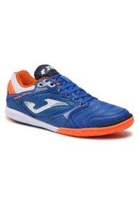 Joma - Buty JOMA - Dribling 2104 DRIS2104IN Royal Orange. Kolor: niebieski. Materiał: materiał. Szerokość cholewki: normalna. Wzór: gładki