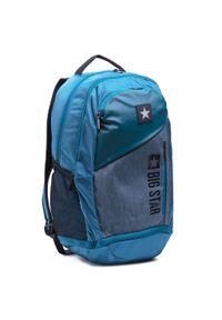 Big-Star - Plecak BIG STAR - HH574184 Green. Kolor: niebieski. Materiał: materiał