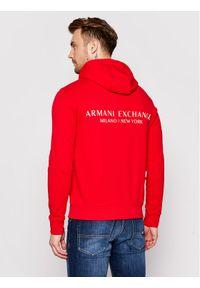 Armani Exchange Bluza 8NZM94 ZJKRZ 1400 Czerwony Regular Fit. Kolor: czerwony