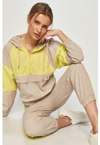Szare spodnie dresowe Jacqueline de Yong gładkie