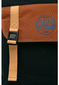 Czarny plecak Pepe Jeans gładki