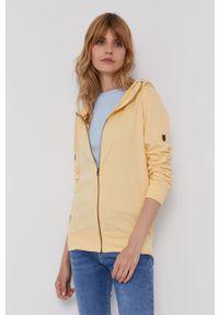 Pepe Jeans - Bluza Anne. Okazja: na co dzień. Kolor: żółty. Materiał: dzianina. Wzór: gładki. Styl: casual