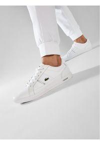 Lacoste Sneakersy Europa 0721 1 Sma 7-41SMA000821G Biały. Kolor: biały