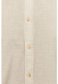 Tom Tailor - Koszula. Okazja: na co dzień. Typ kołnierza: button down. Kolor: biały. Materiał: tkanina. Długość rękawa: długi rękaw. Długość: długie. Wzór: gładki. Styl: casual