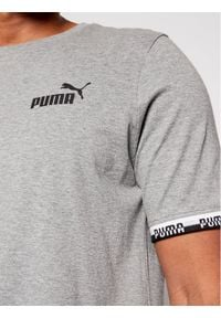 Puma T-Shirt Amplified 585778 Szary Regular Fit. Kolor: szary