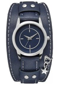 Niebieski zegarek bonprix analogowy