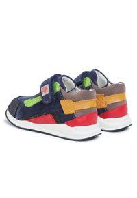 Garvalin - Sneakersy GARVALIN - 201356 M A-Azul Marino. Okazja: na spacer, na co dzień. Zapięcie: rzepy. Kolor: niebieski. Materiał: skóra, zamsz. Szerokość cholewki: normalna. Styl: casual